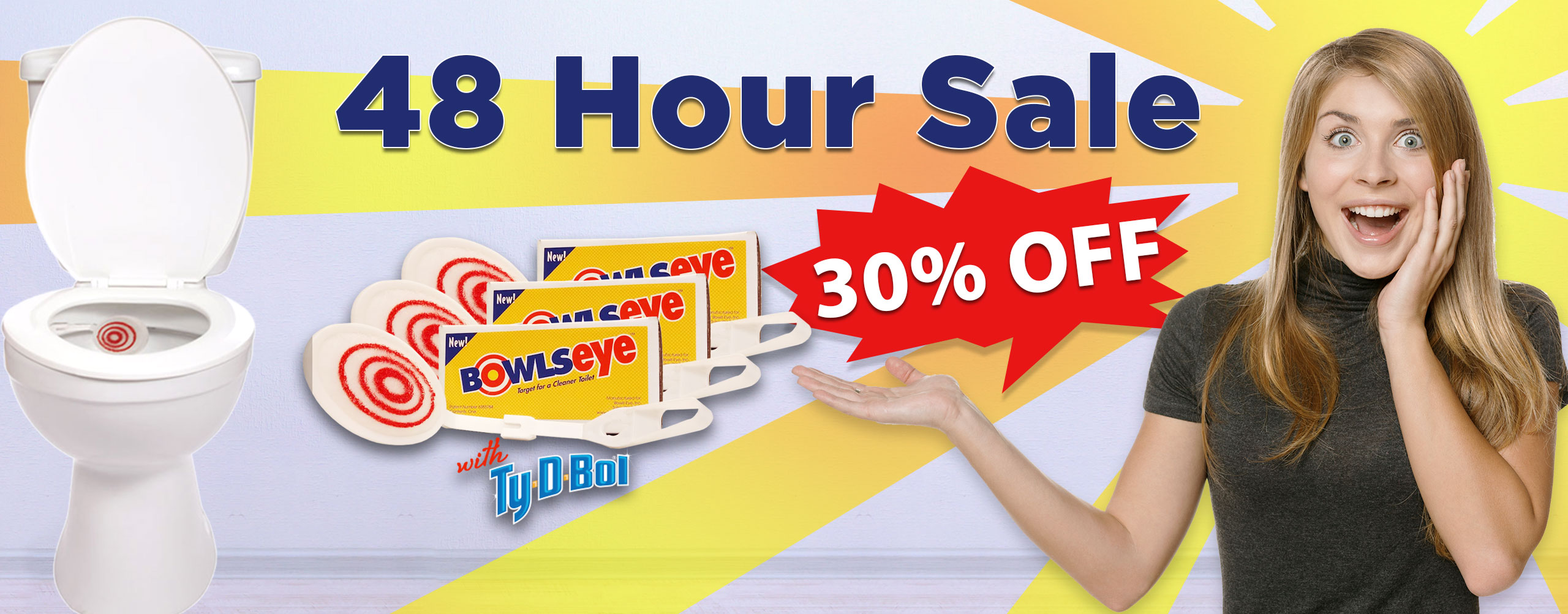 48 Hour Sale Banner